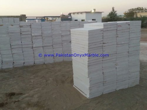 Marble Tiles Afghan White Marble Natural Stone For Floor